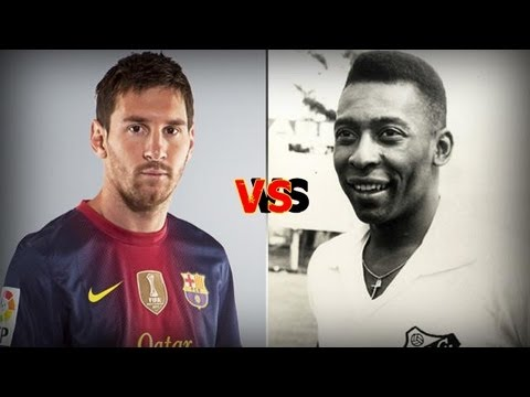 Messi vs Pele the king