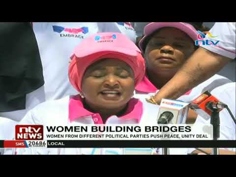 Women leaders say they want political tolerance, laud 'handshake'