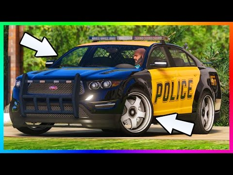 SECRET GTA 5 POLICE/COP CAR CUSTOMIZATION & HIDDEN VEHICLES UPGRADES + POSSIBLE FOR GTA ONLINE DLC!?