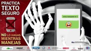 Nos unimos a la campaña TextoSeguro si vas al volante no usés el celular