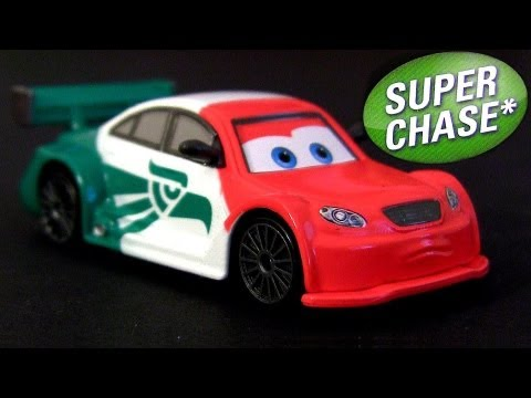 Cars 2 Memo Rojas Jr. MATTEL Super Chase Ultimate 1:55 Scale Diecast Disney Pixar Mexican Racer
