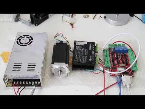 Unboxing CNC Stepper motor kit