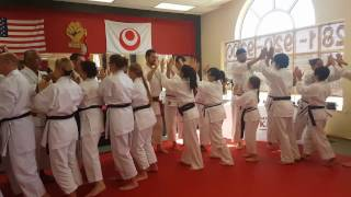 Society of Harmonious Fist Annual Training Camp & Black Belt Testing 2016 CCDK