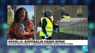 Melbourne Facing Prolonged Lockdown As Cases Surge