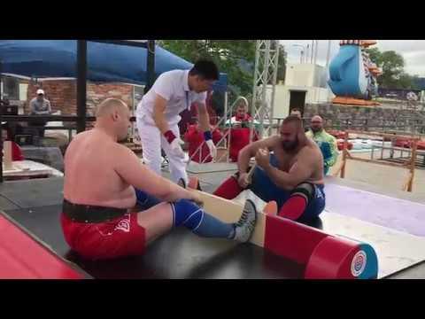 European Mas-wrestling Absolute Championship-2019 FINAL. Kolibabchuk RUS VS Sylka UKR