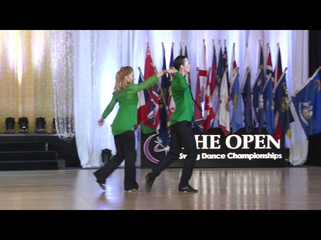Vladimir Leonov and Olga Malafeevskaya - The Open 2016 - Classic WCS