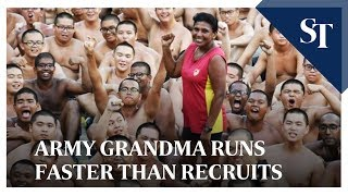 Meet the 61-year-old army grandma who can outrun recruits