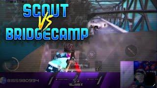 sc0ut vs BridgeCamp | 1v10? || Pubg Mobile