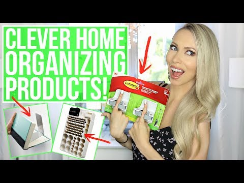 12 Clever Home Organization Products You NEED! Mp3