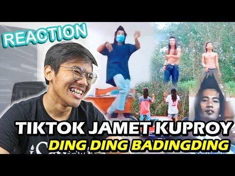 REACTION TIKTOK JAMET KUPROY! DINDING BADINDING 😭😂