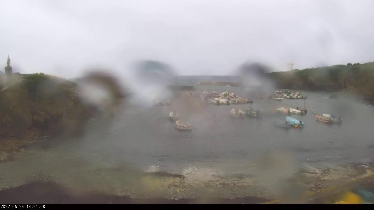 Webcam en direct du port de Pors-Poulhan sur la commune de Plouhinec à la limite du Cap-Sizun et du Pays Bigouden