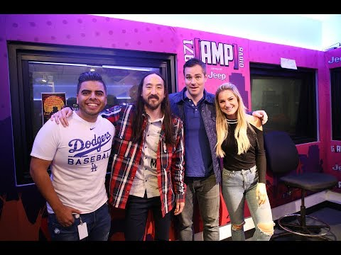 "Steve Aoki World Premieres BTS Collab ""Waste It On Me"" LIVE On AMP Morning Show"