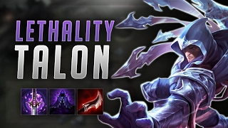 FULL LETHALITY TALON BROKEN! ONE SHOT EVERYONE!   Road To Challenger #45