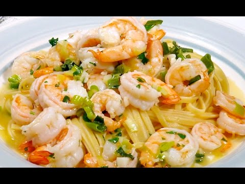 SHRIMP SCAMPI | DIABETIC RECIPES | STEP BY STEP | HEALTHY RECIPES |