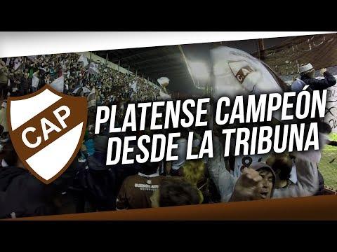 """""""Platense campeón - La fiesta desde la tribuna"""" Barra: La Banda Más Fiel • Club: Atlético Platense"""