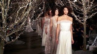 Jenny Packham Bridal Spring 2014 - Interviews And Runway | Videofashion