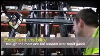 CLARK SRX14 - Chariot à mat rétractable