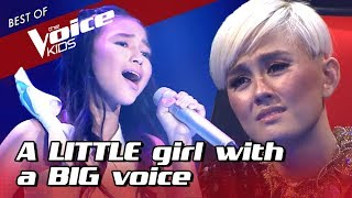 11-Year-Old SOULFUL singer makes the coaches fall in LOVE
