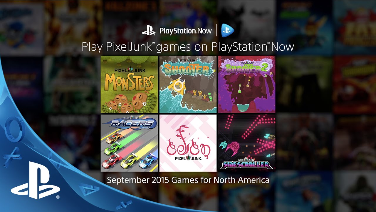 PixelJunk Comes to PlayStation Now