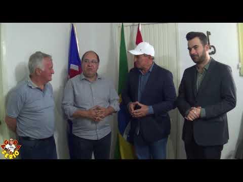 Deputado Federal Valmir Prascidelli faz uma visita ao Prefeito Ayres Scorsatto