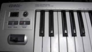MIDI Recording on Mac (1) - EDIROL PC-50