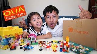 Bố Tặng Quà Trung Thu Đồ Chơi Lego Sáng Tạo Cho Bé Bún