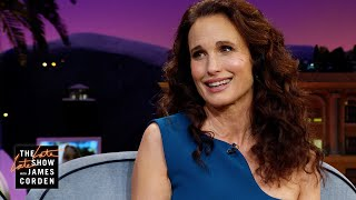 Andie MacDowell's Close Call w/ A Mountain Lion