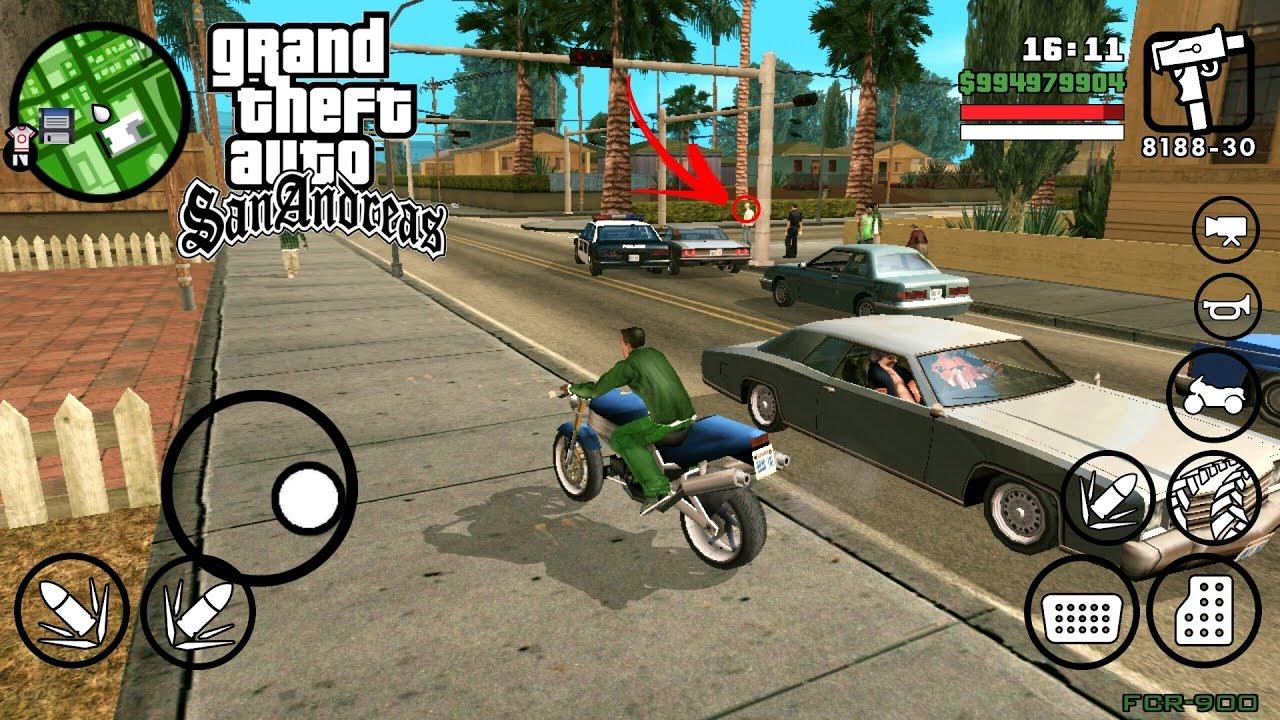 download game gta san andreas mod motor drag android