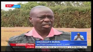 Rigathi Gachagua has told off the MCA'S saying that they are guilty of waht they did to his brother
