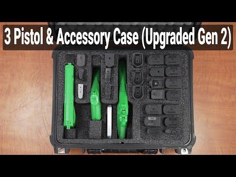 3 Pistol & Accessory Case (Gen-2) - Featured Youtube Video