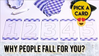 PICK A CARD // Why People Fall For You? What Makes You So Irresistible?