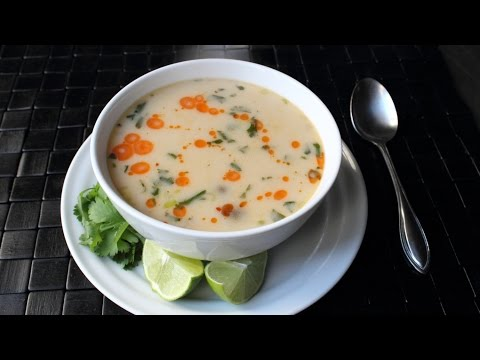 Tom Kha Gai – Spicy Thai Coconut Chicken (or Turkey) Soup Recipe