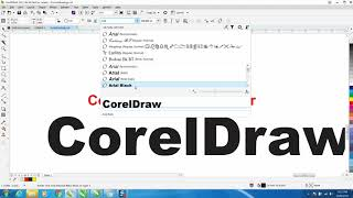Corel Draw Tips & Tricks X8 & 2017 Font Manager Part 3