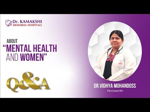 drkmh-ABOUT MENTAL HEALTH & WOMEN | Dr.KAMAKSHI MEMORIAL HOSPITAL