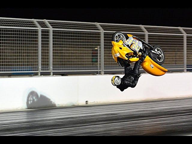 حادث مؤلم لمتسابق كويتي في سباق السرعة في البحرين