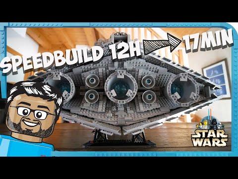 Vidéo LEGO Star Wars 75252 : Imperial Star Destroyer UCS