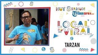 Tarzan: Selamat Ulang Tahun ke-8 Tribunnews, Semoga Selalu Dilihat Banyak Orang