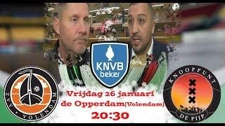 samenvatting zvv Volendam vs zvv 't Knooppunt(Beker)
