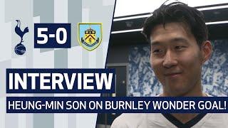 INTERVIEW | HEUNG-MIN SON ON BURNLEY WONDER GOAL! | Spurs 5-0 Burnley