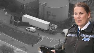 Essex Police Launch Murder Investigation After 39 Bodies Found Inside Lorry Container