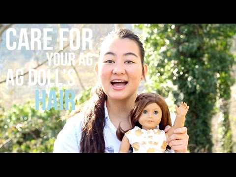 How to care for your American Girl Doll's hair ♡