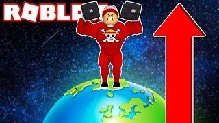 Fiquei TÃO FORTE E GIGANTE Que BUGUEI O ROBLOX → Weight Lifting Simulator 3 🎮