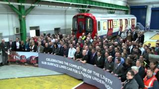 Final S Stock vehicle for London Underground – Interview with Martin Rennoldson