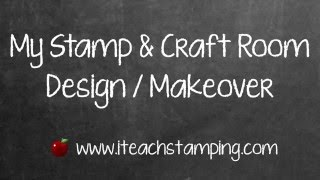 Stamp And Craft Room Design And Makeover Inspired By Joanna Gaines