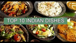 TOP 10 BEST INDIAN DISHES