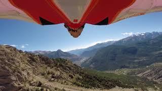 Long Wingsuit Flight @Bec de l