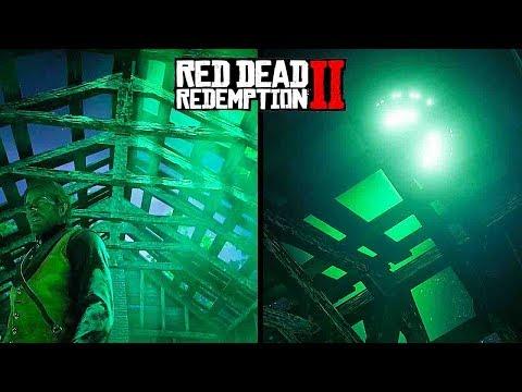 SECRET ALIEN UFO EASTER EGG - Red Dead Redemption 2 (HOW TO ACTIVATE)