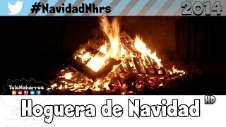 preview picture of video 'Hoguera Navidad Naharros (Cuenca) 2014'