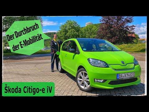 2020 Skoda Citigo e iV - Der Durchbruch der E-Mobilität?! | Test - Review - Alltag - Familie