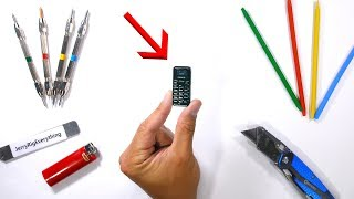 World's SMALLEST Cell Phone - Durability Tested!!